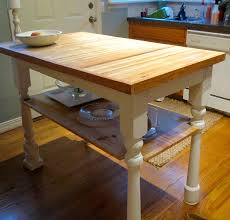 kitchen island butcher block rectangle butcher block kitchen island with open shelves and