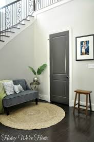 Chair That Goes Up Stairs Black Gray Painted Interior Doors Honey We U0027re Home