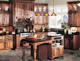 kitchen nice rustic kitchen with rustic kitchens characteristics