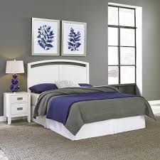 Bed And Nightstand Bedroom Furniture Furniture The Home Depot