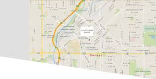 Zip Code Map Colorado by Courtyard Marriott Denver Downtown
