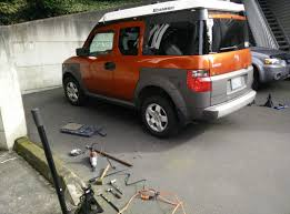 New Honda Element 2015 Struts All Around Increased Capacity Rear Springs Installation