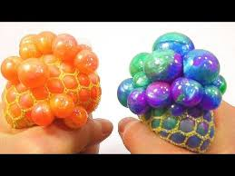 How To Make Decorative Balls Edible Slime Diys Galaxy Slime Slime Stress Ball And Emoji