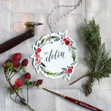 Holiday Wreath Watercolor Holiday Wreath Tutorial Free Printable The