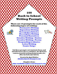 Creative Writing Prompts For Kids Worksheets The Idea Backpack Made It Monday Back To Writing Prompts