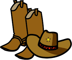 pics of black and white cowboy boots coloring pages cowboy clipart