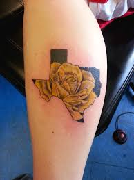 a yellow rose in texas tattoo com