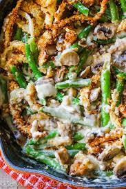 green bean casserole from scratch this undeniably rich side