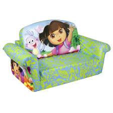 flip open sofa spin master marshmallow furniture flip open sofa dora