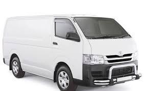 Toyota Hiace Van Interior Dimensions Late Model Manual Van Toyota Hiace