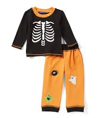 Halloween Skeleton Top by Matts Scooter Baby Boys Newborn 24 Months Halloween Skeleton Top