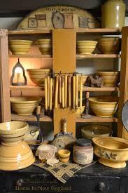 Primitive Decor Kitchen 150 Best Yellow Ware Images On Pinterest Mccoy Pottery Mocha