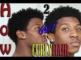 make african american men hair curly how to get natural curls men s hair short hair twa youtube
