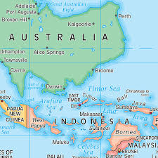Image Of World Map Weltkarte Auf Dem Kopf