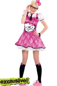 Kitty Halloween Costumes Cute Kitty Nerd Costume Halloween Nerd