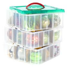 snapware snap n stack 3 layer ornament keeper solutions your