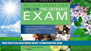 free download review guide for lpn lvn pre entrance exam full