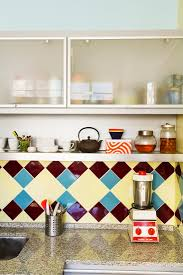 frosted glass kitchen wall cabinets vintage tiles and granite kitchen buy image 11251087