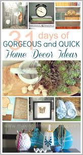 Easy Diy Home Decor Ideas 31 Easy Decorating Ideas Wrapup And Link Party Making Lemonade