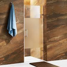 5 Shower Door Vigo Vg6072stcmc28 Soho 28 Frameless Shower Door With 5 16 Clear