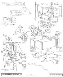 briggs and stratton 281707 0411 01 parts diagram for air cleaner