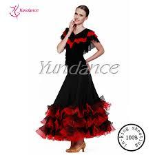 Spanish Dancer Halloween Costume Red Black Flamenco Dress Spanish Puffy Skirt Ab033ab Buy