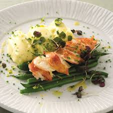 Cuisine Trotter - trotter s lobster with horseradish potatoes recipe