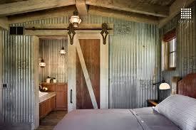 Rustic Bedroom Barn Door Design Ideas  Pictures Zillow Digs - Barn interior design ideas