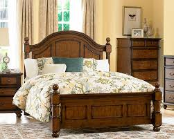 Country Bed Frame Chicago Furniture For Country Style Poster Bed