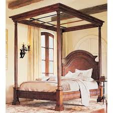 king canopy bed interiors design