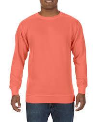 Comfort Colors Brick 1566 Crewneck Sweatshirt Comfort Colors Usa