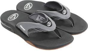 reef fanning flip flops womens reef fanning sandals grey stripe 4121 shoes online