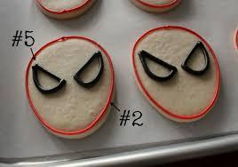 simple spider man cookies u2013 the sweet adventures of sugar belle