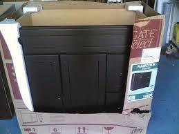Dark Espresso Kitchen Cabinets by Nib Very Nice Bathroom Dark Espresso Finish Vanity Cabinet 36