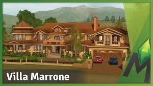 the sims 3 building villa marrone the good earth pinterest