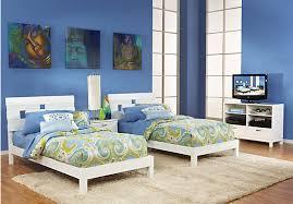 White Twin Bedroom Set Creative Of Twin Bedroom Sets Acme Furniture Brandon Oak 5 Piece