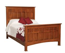 royal craftsman santa fe queen bed rs282 shh the mission motif