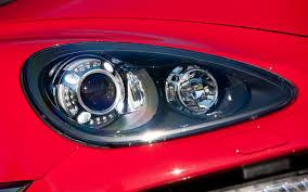porsche cayenne headlights drive 2013 porsche cayenne gts automobile magazine