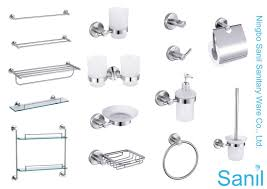 Classic Bathroom Accessories by Adorable 80 Stainless Steel Bath Set Design Inspiration Of How To