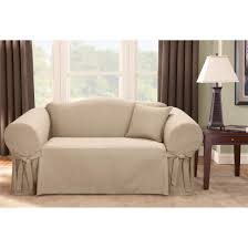 Modern Sofa Covers by Sure Fit Logan Sofa Slipcover 292830 Furniture Covers At