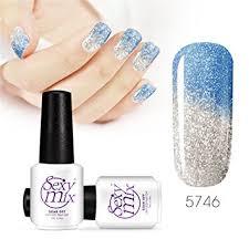 amazon com mix soak off uv led nail gel polish temperature