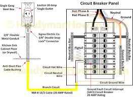 50 gfci breaker wiring diagram how to wire a 220v 2 pole 240v
