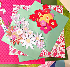mother u0027s day paper flower craft step by step tutorial with