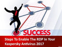 Rdp Plans by Steps To Enable The Rdp In Your Kaspersky Antivirus 2017 By