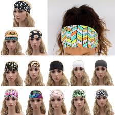 s headband 1pc fashion women s wide sports headband stretch hairband