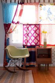 Scarf Curtains Diy Vintage Scarf Curtains Project Design Sponge