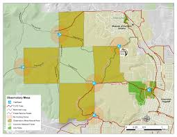 Mesa Arizona Map by Observatory Mesa City Of Flagstaff Official Website