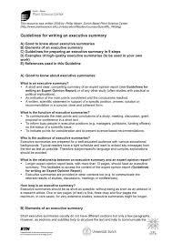 executive summary template download free u0026 premium templates