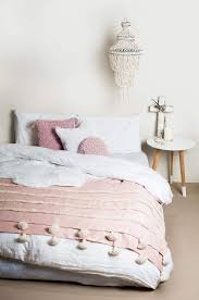 bedroom cool baby pink and grey bedroom blush coloured bedding