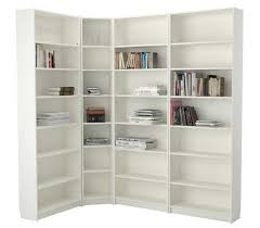 White Corner Bookcase White Corner Bookcase Ikea With Adjustable Shelves Home Interior